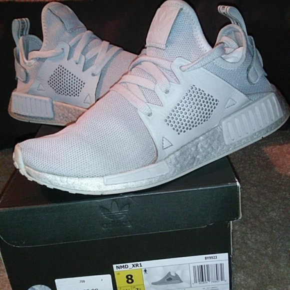 separation shoes f8923 66110 Adidas nmd xr1 triple grey